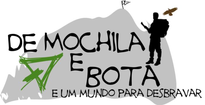 De Mochila e Bota Logo Nova